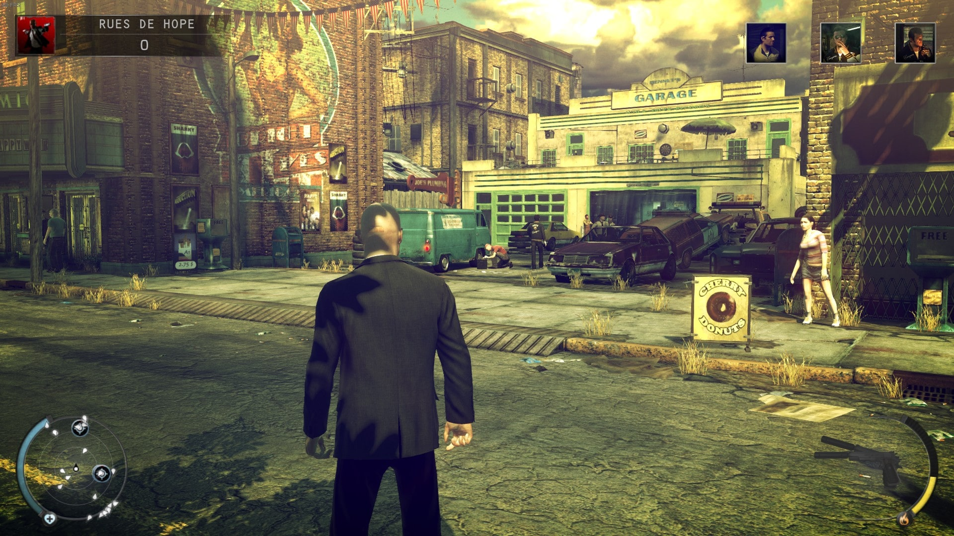 hitman absolution ps4 gameplay